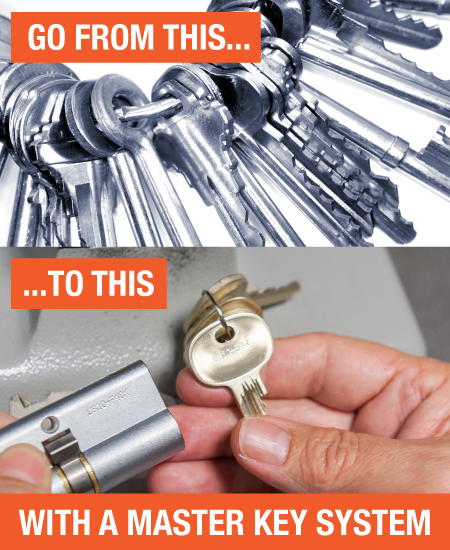 Master Key Systems | Commercial Security Specialists in Bristol | Gemsec