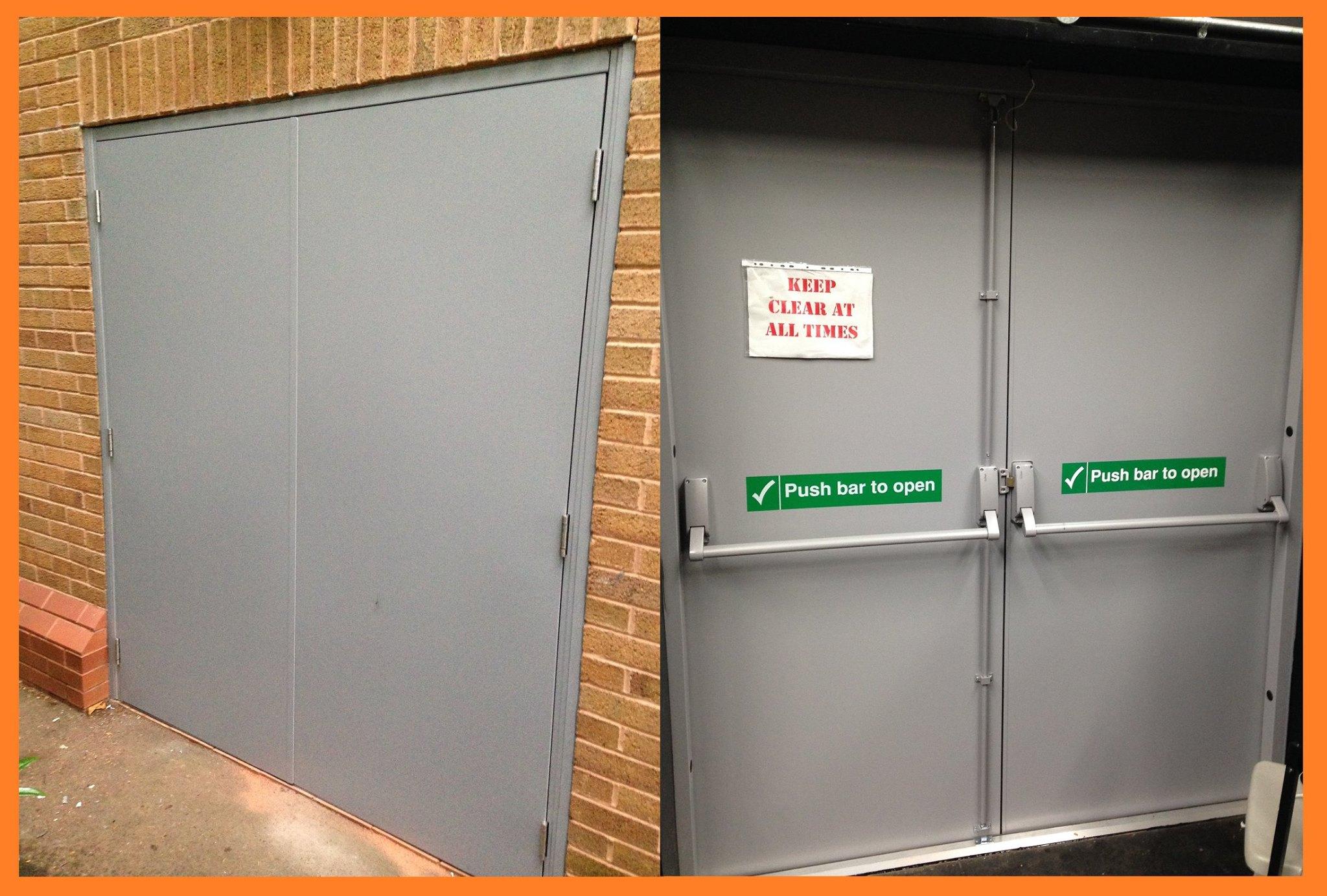 24 Oct Local College gets new steel fire door & Local College gets new steel fire door | Commercial Security ...